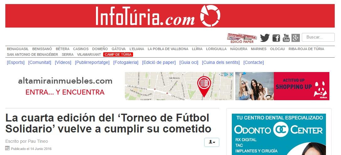 La 4ª Edición Del 'Torneo De Fútbol Solidario' Vuelve A Cumplir Su Cometido