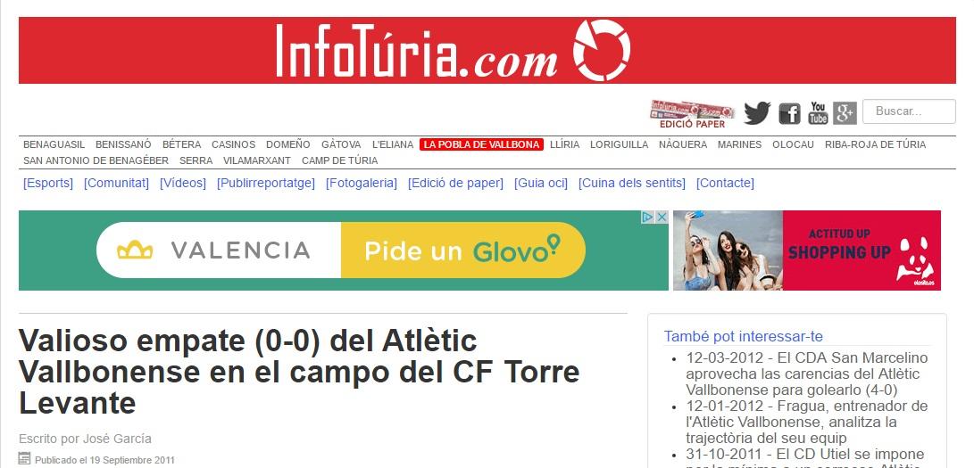 Valioso Empate (0-0) Del Atlétic Vallbonense En El Campo Del CF Torre Levante