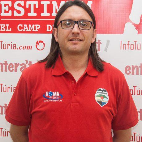 Entrenador Vicente Fragua