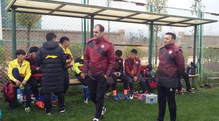 Fragua Viaja Con La Selección De Hainan A La Región De Yunnan, Para Participar En Un Torneo